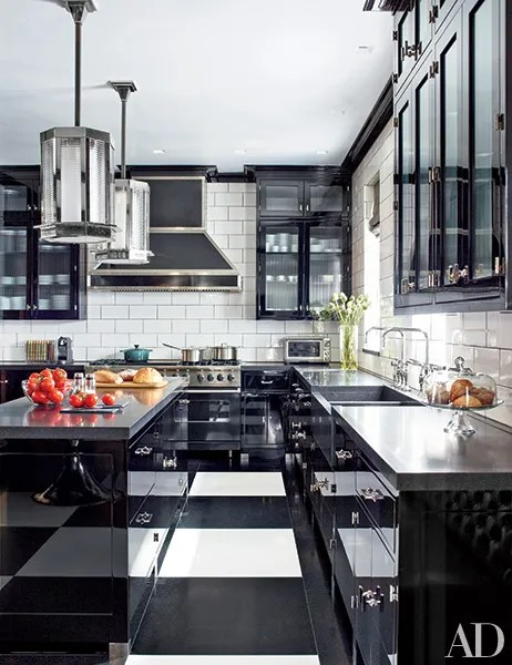 black and white floors that make a