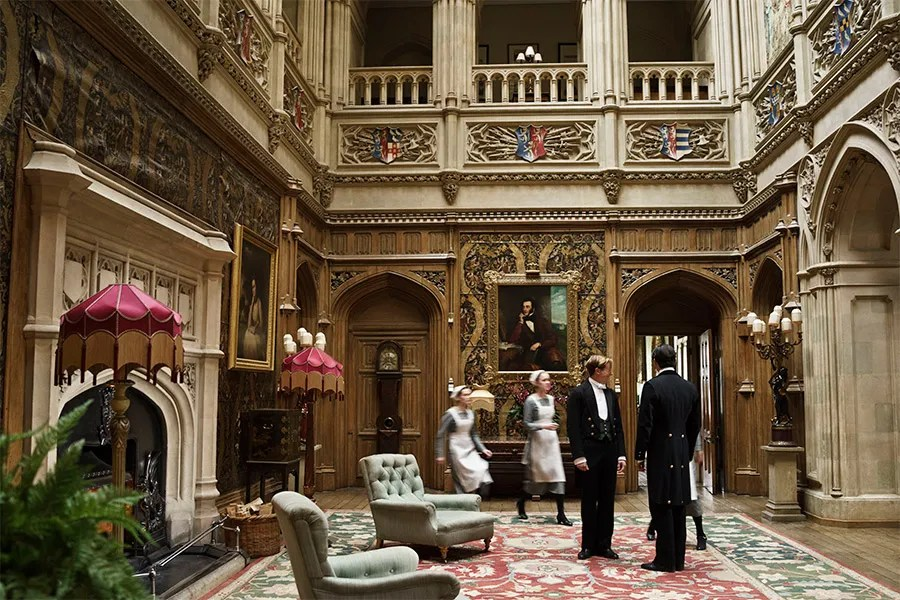 Image result for downton abbey set