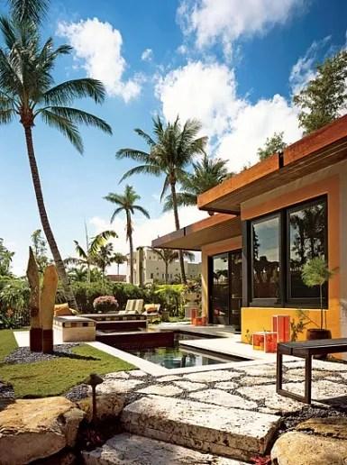 9 Exterior Wall Decor Ideas to Try: Outdoor Wallpaper ... on Backyard Wall Decor Ideas id=48319