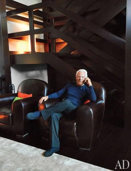 Tour Giorgio Armanis Elegant Retreat In Switzerland