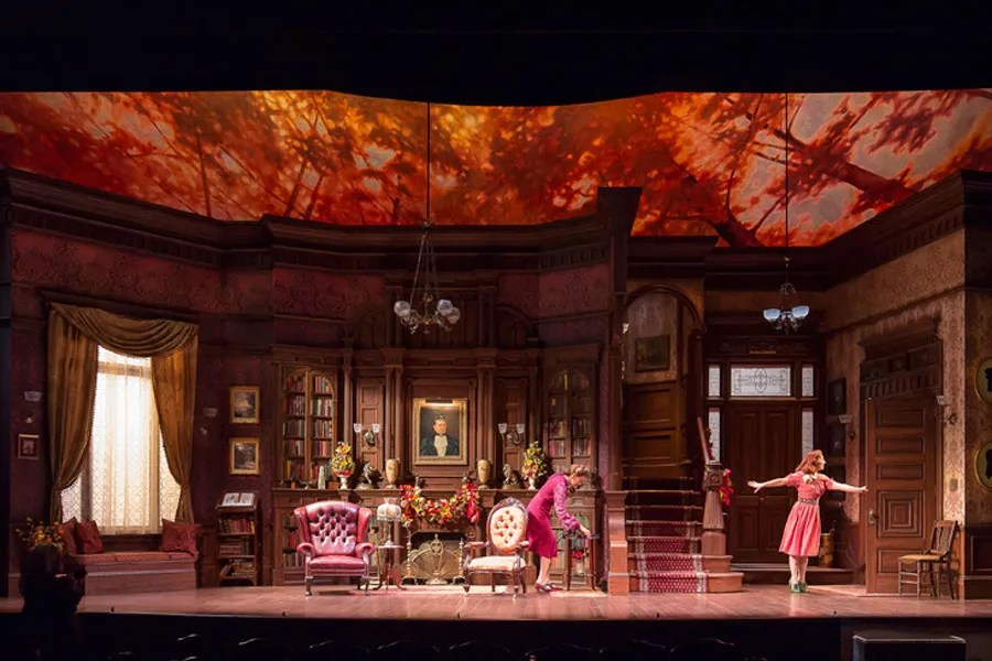 The Sets Of Harvey On Broadway Photos Architectural Digest