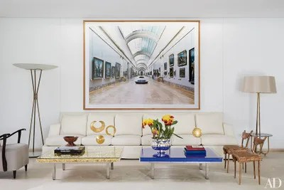 Beautiful Living Rooms With Floor Lamps Architectural Digest