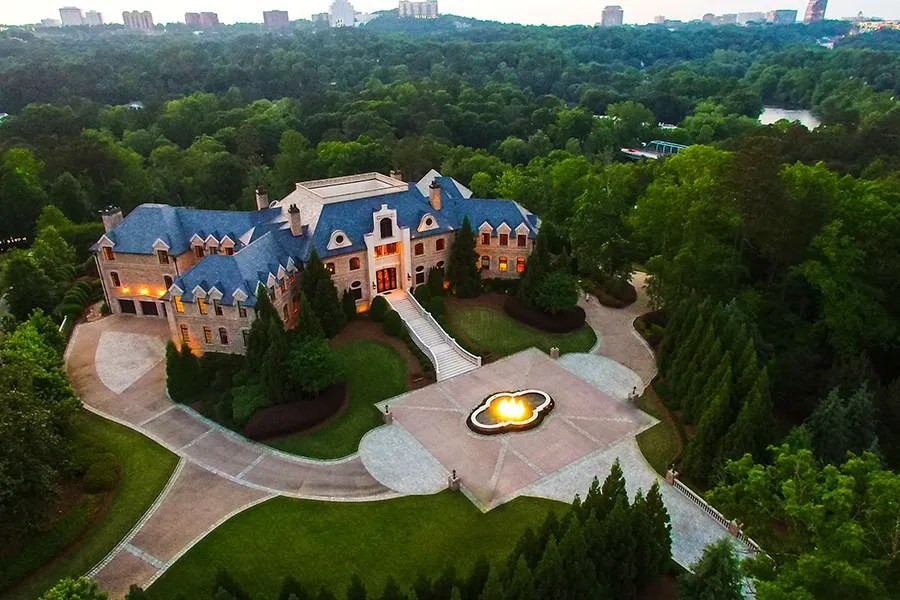 Actor and filmmaker Tyler Perry just added another bullet point to his résumé: real-estate record holder. Perry's French Provincial–style manor in Atlanta just sold for $17.5 million, breaking the city's record for most expensive residential sale, reports the Atlanta Business Chronicle, which notes that the previous highest sale was a Buckhead estate that sold for $10.5 million in 2009. Perry's home was built in 2008 with careful attention to detail. Set on 17 parklike acres along the Chattahoochee River, the property is only 3.5 miles from the city's historic Buckhead Village and 15 miles from the Dekalb Peachtree Airport. If this house is any indication, wherever Perry moves next is sure to be exquisite.  Stats 7 Bedrooms  9 Baths  5 Half Baths  34,690 sq. ft.  $17.5 million  Contact: Atlanta Fine Homes Sotheby's International Realty, 404-835-9597; sothebysrealty.com