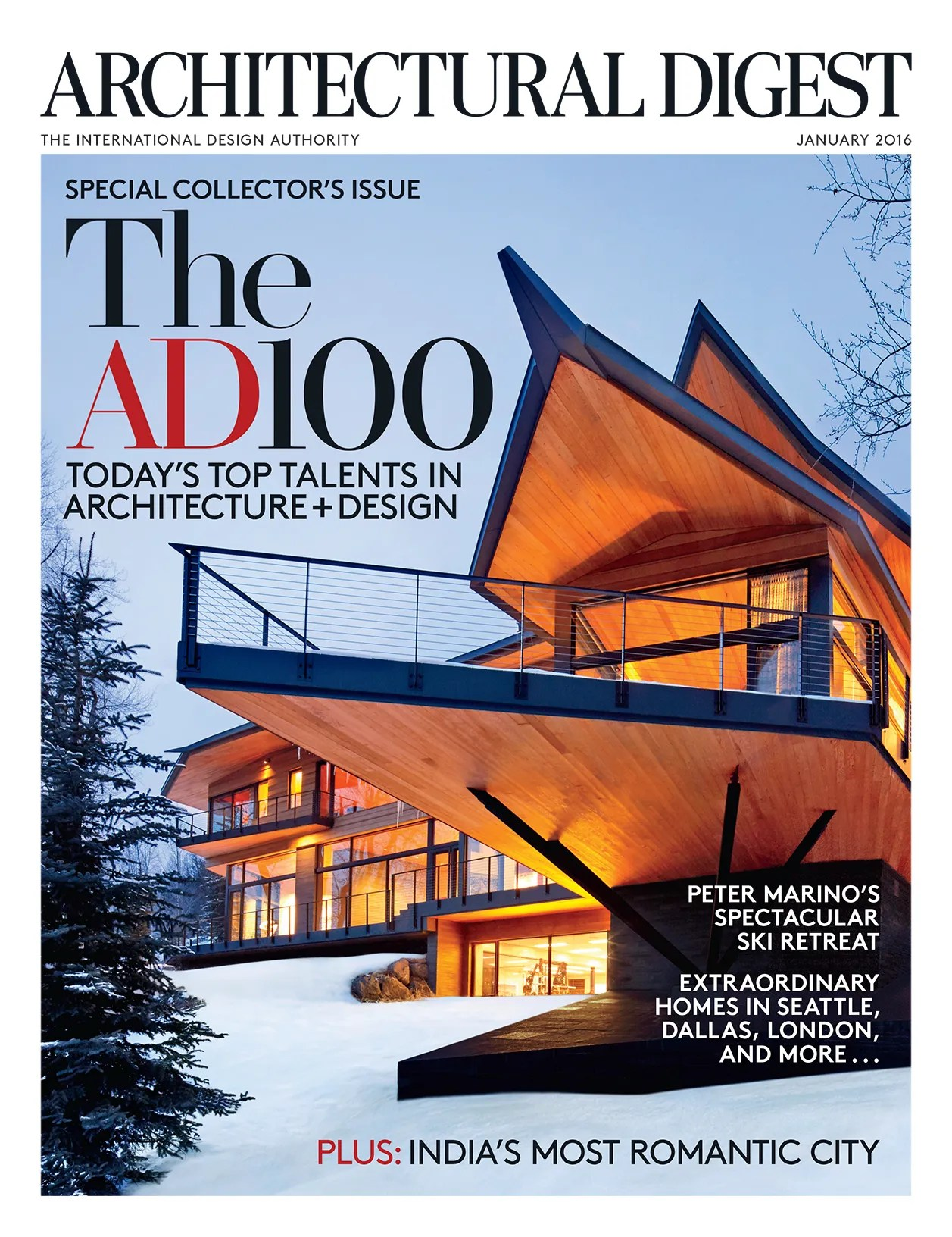 January 2016 Architectural Digest