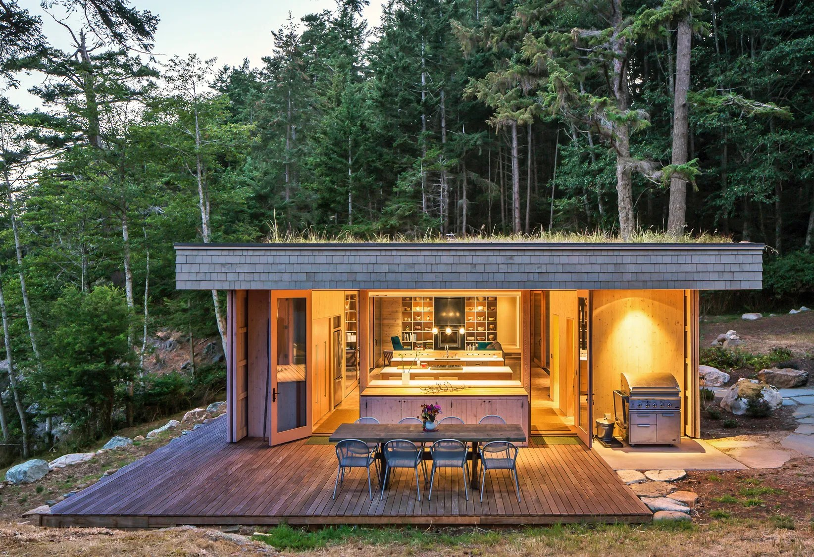 Go Inside a Modern Glass House by Heliotrope Architects in ... on Modern Glass House  id=37332