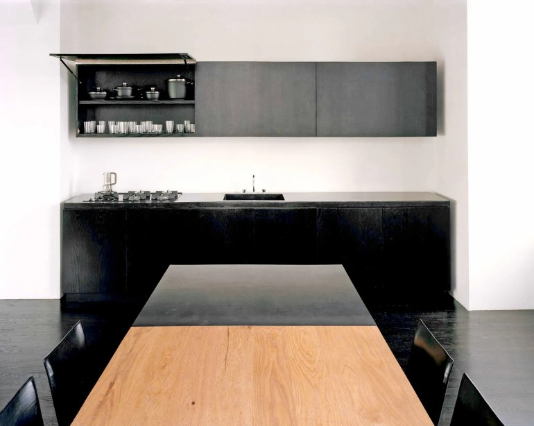 This image may contain Wood Hardwood Furniture Tabletop Plywood Indoors Interior Design and Room