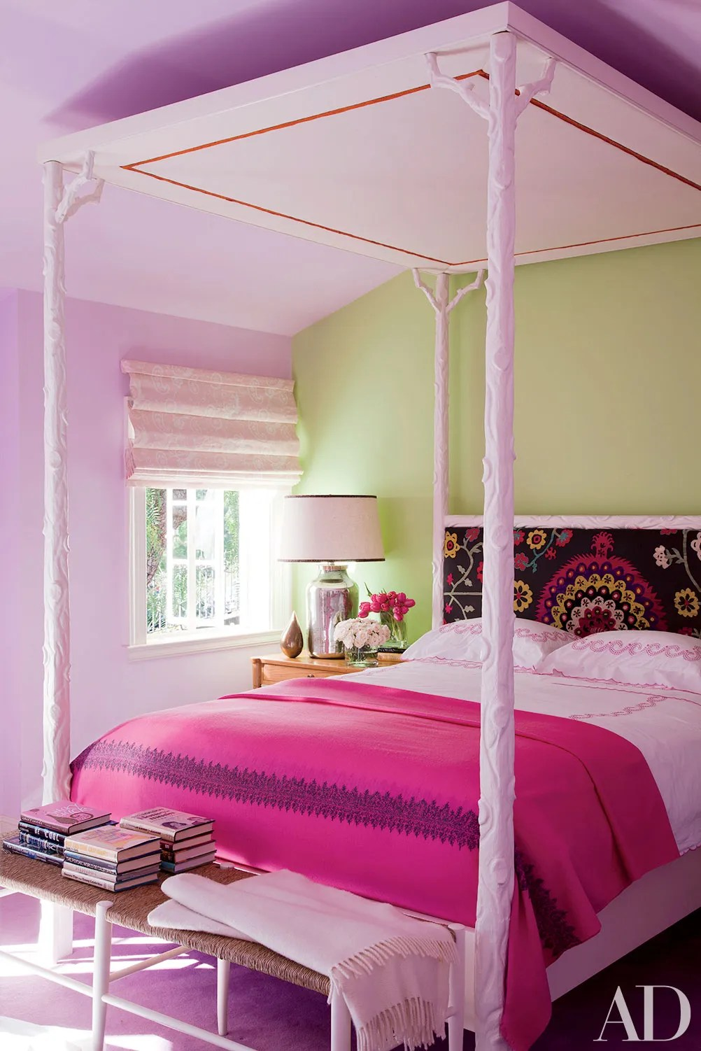 Pink Room Decoration Inspiration Photos | Architectural Digest on Room Decoration  id=50924