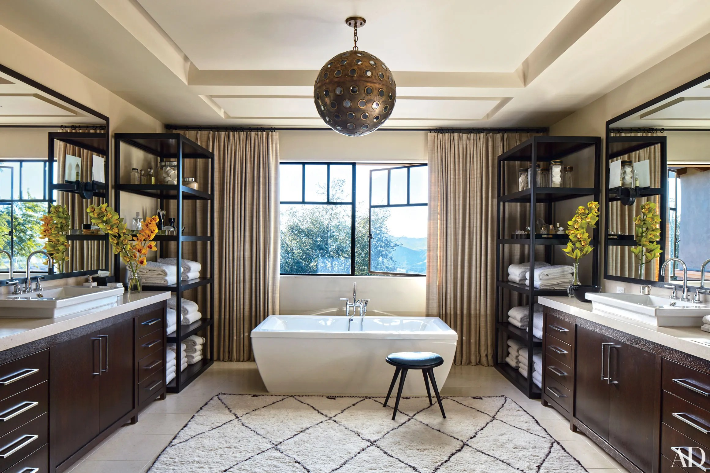 22 Luxury Bathrooms in Celebrity Homes Photos   Architectural Digest