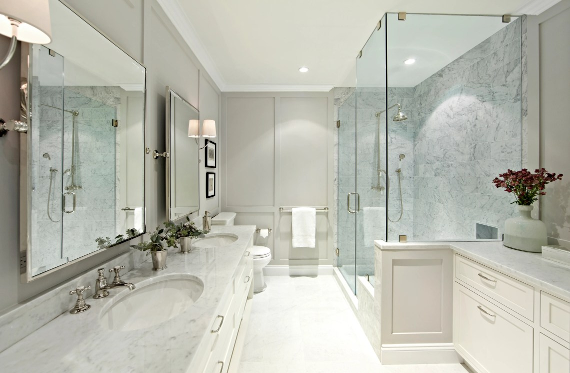 Best Bathroom Makeovers Before After Bathroom Remodels Architectural Digest