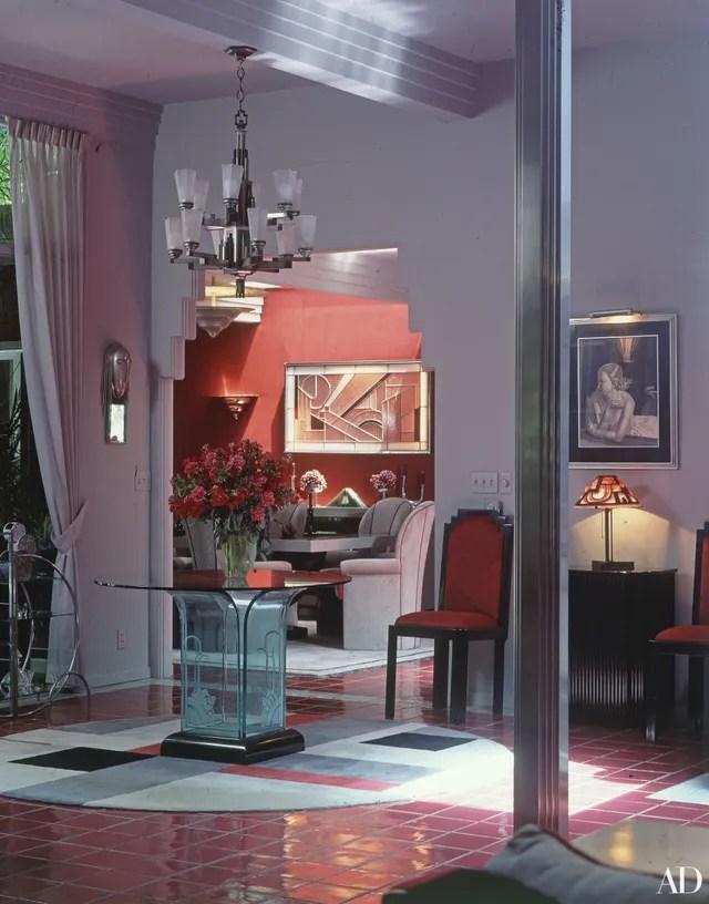 Barbra Streisands Malibu House Photos Architectural Digest