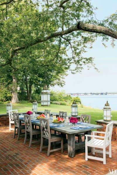 outdoor backyard patio ideas Outdoor Living and Patio Ideas Photos | Architectural Digest