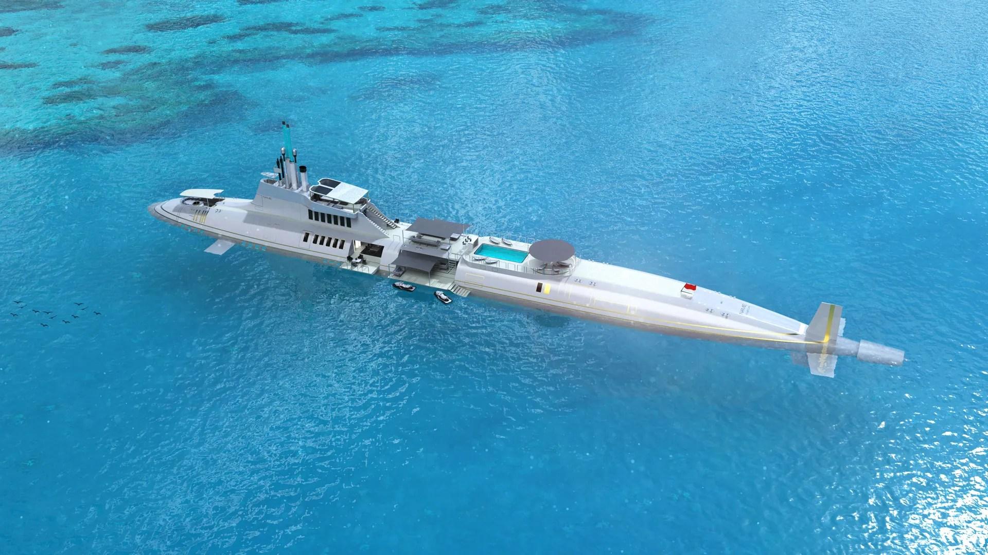 tour the world's most luxurious submarine superyacht – yacht
