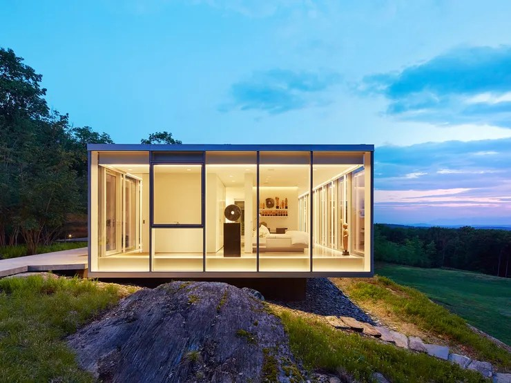 Toshiko Mori-Designed Glass Houses Dot This Incredible ... on Modern Glass House Design  id=27727