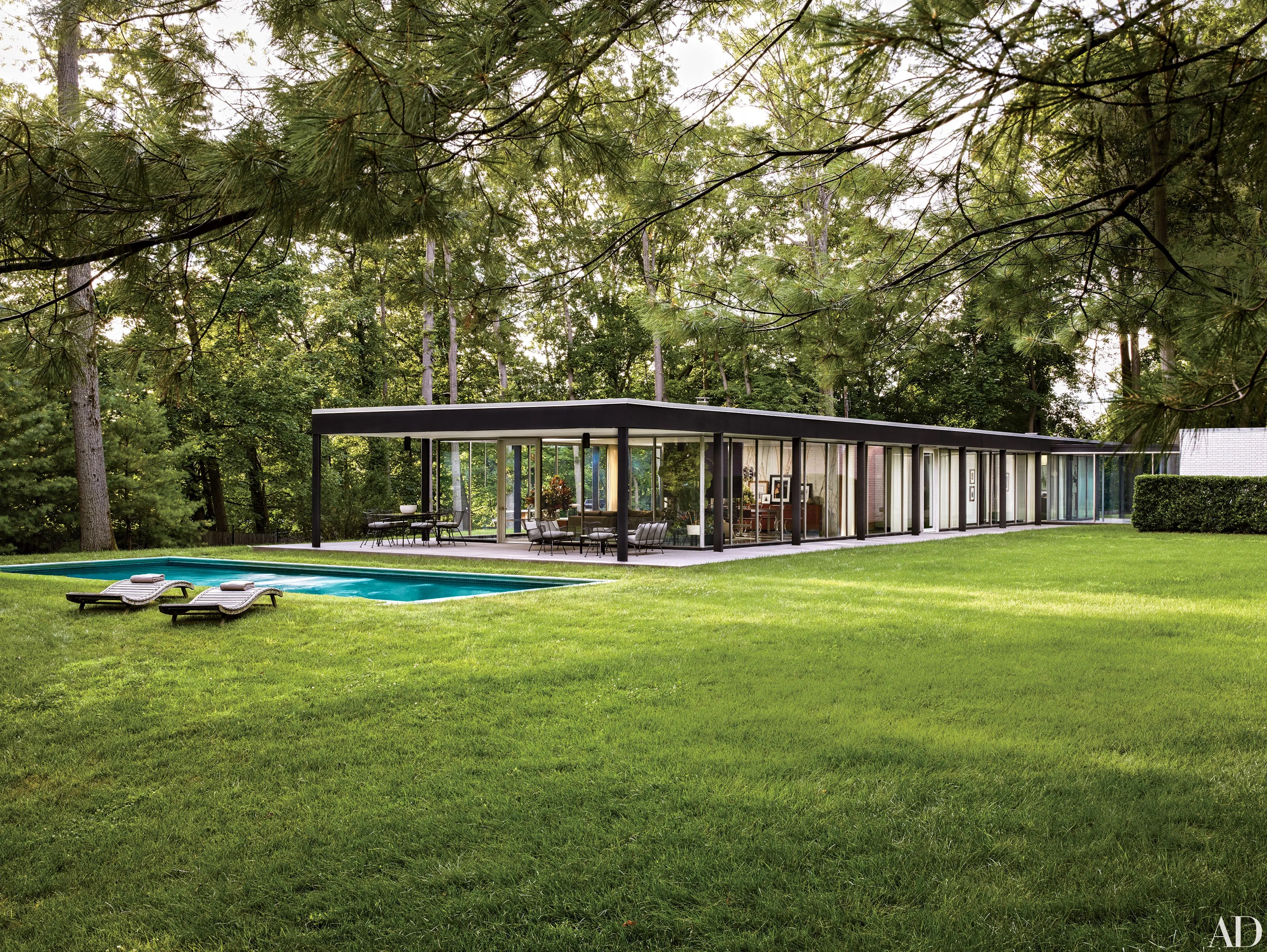 Glass House Design Photos | Architectural Digest on Modern Glass Houses  id=29795
