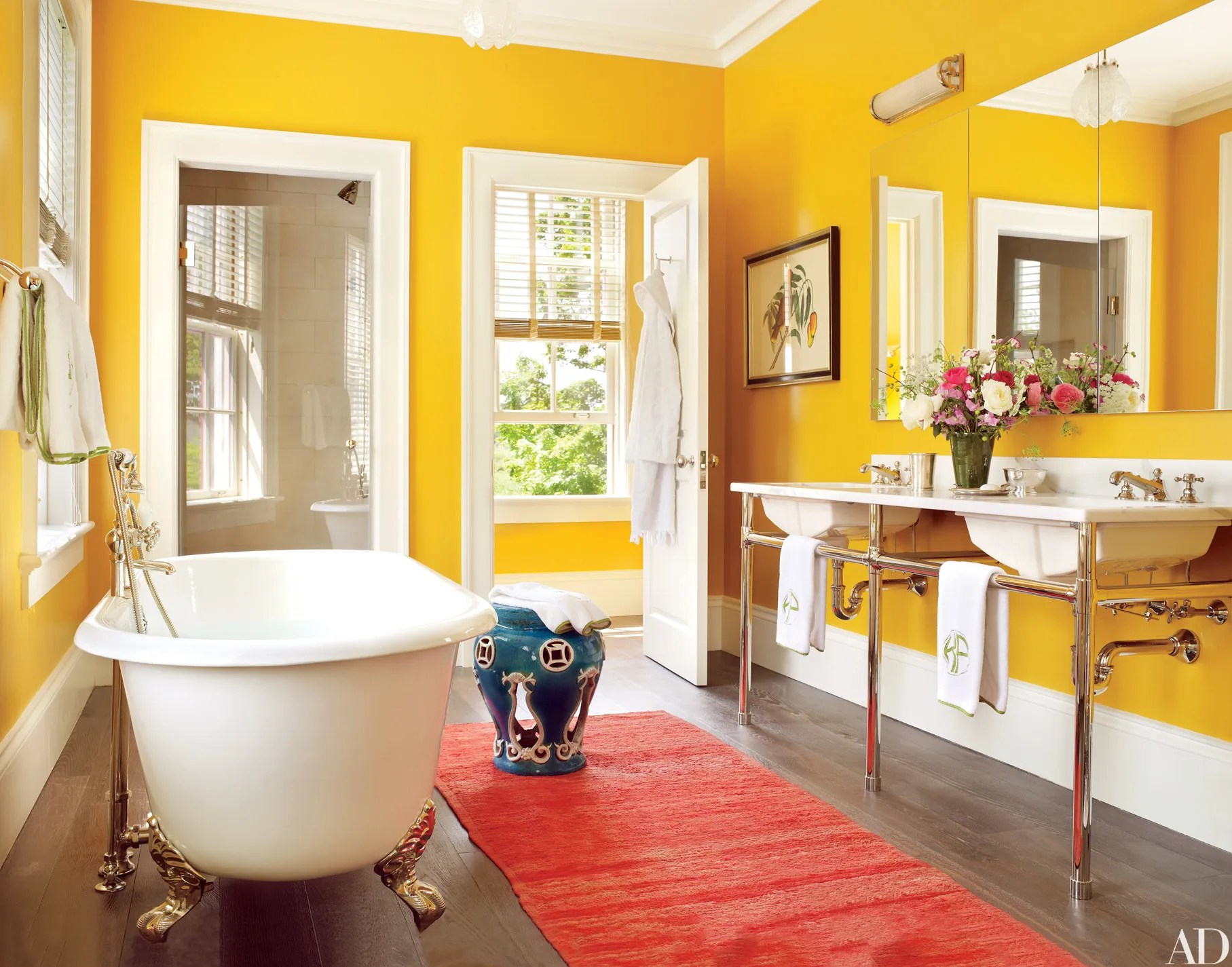 20 Colorful Bathroom Design Ideas That Will Inspire You To