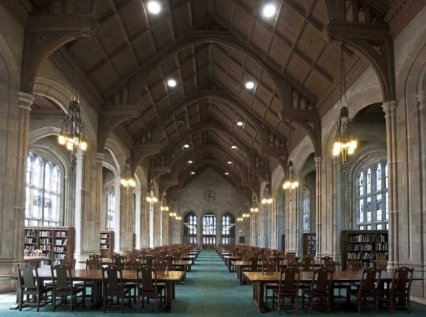 Bapst Library, Boston College, Boston