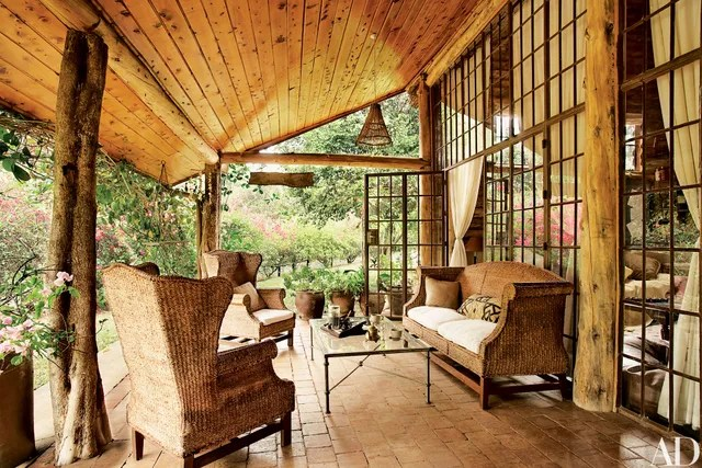 How To Elegantly Style A Log Home Photos