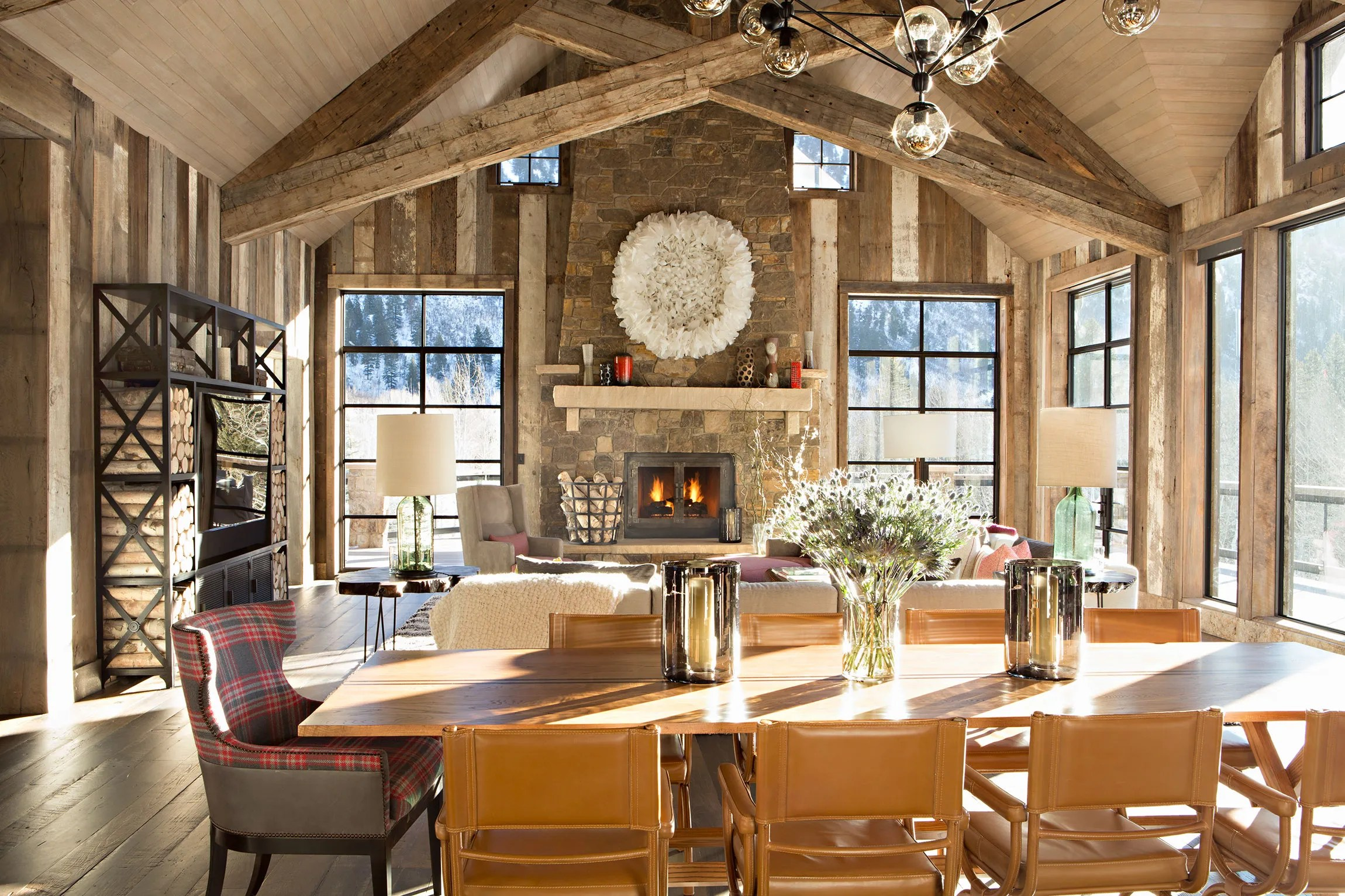 Log Home Decorating Ideas Pinterest
