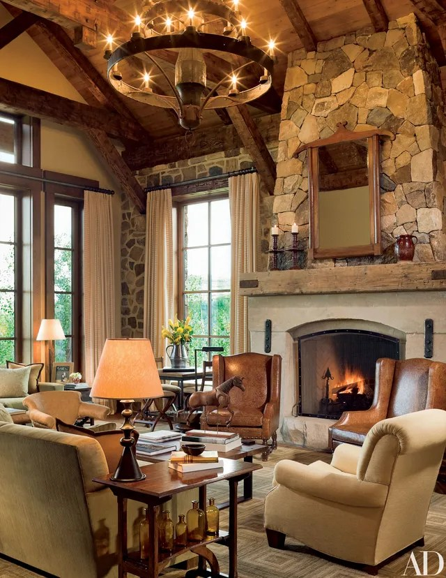13 Utterly Inviting Rustic Living Room Ideas Photos