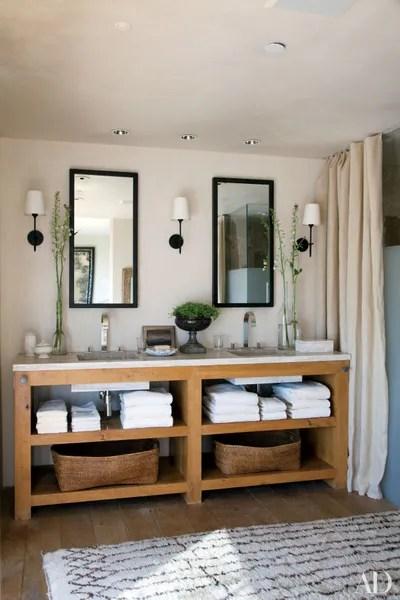 ideas for bathroom double vanities