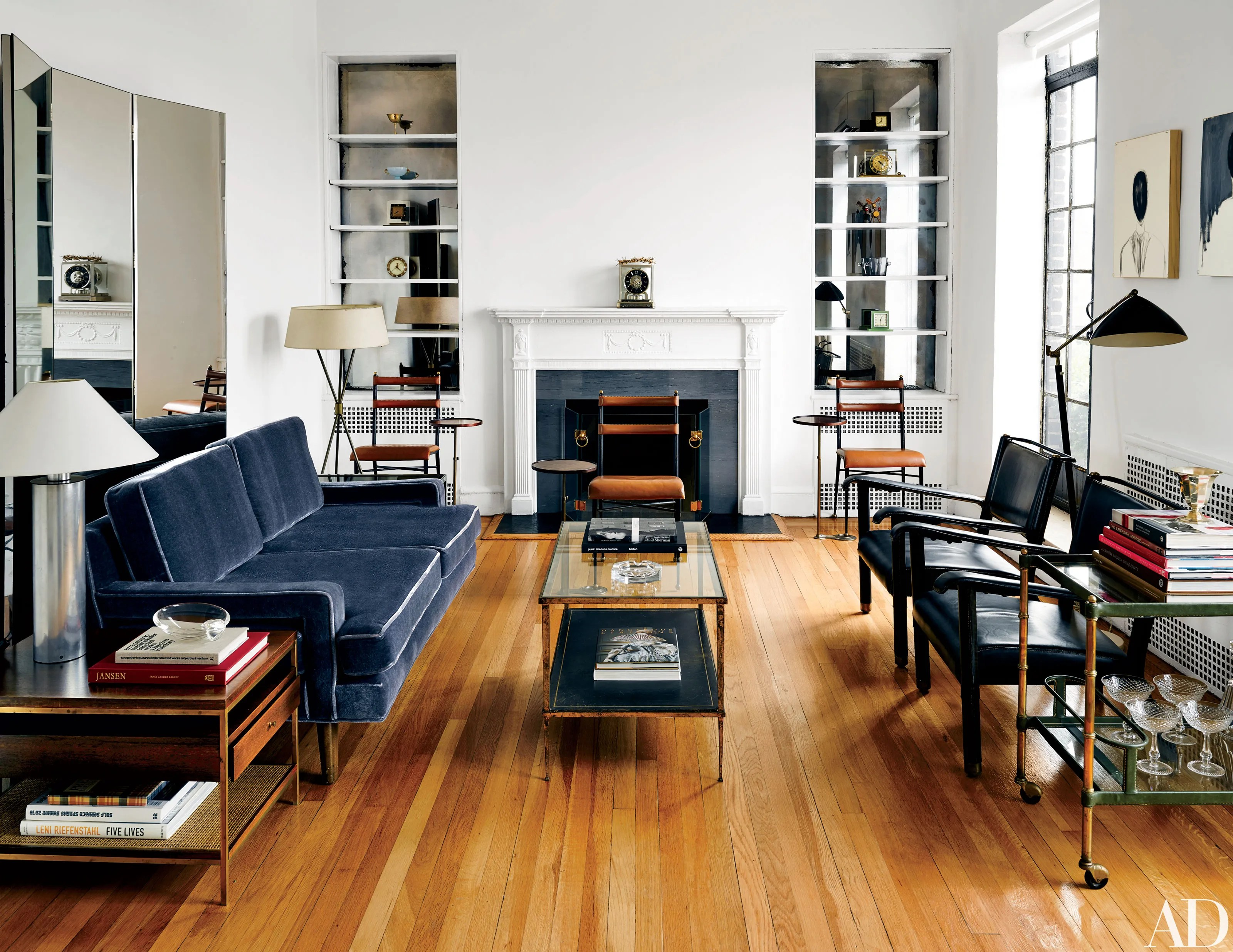 Fashion Designer Thom Brownes Home In Manhattan