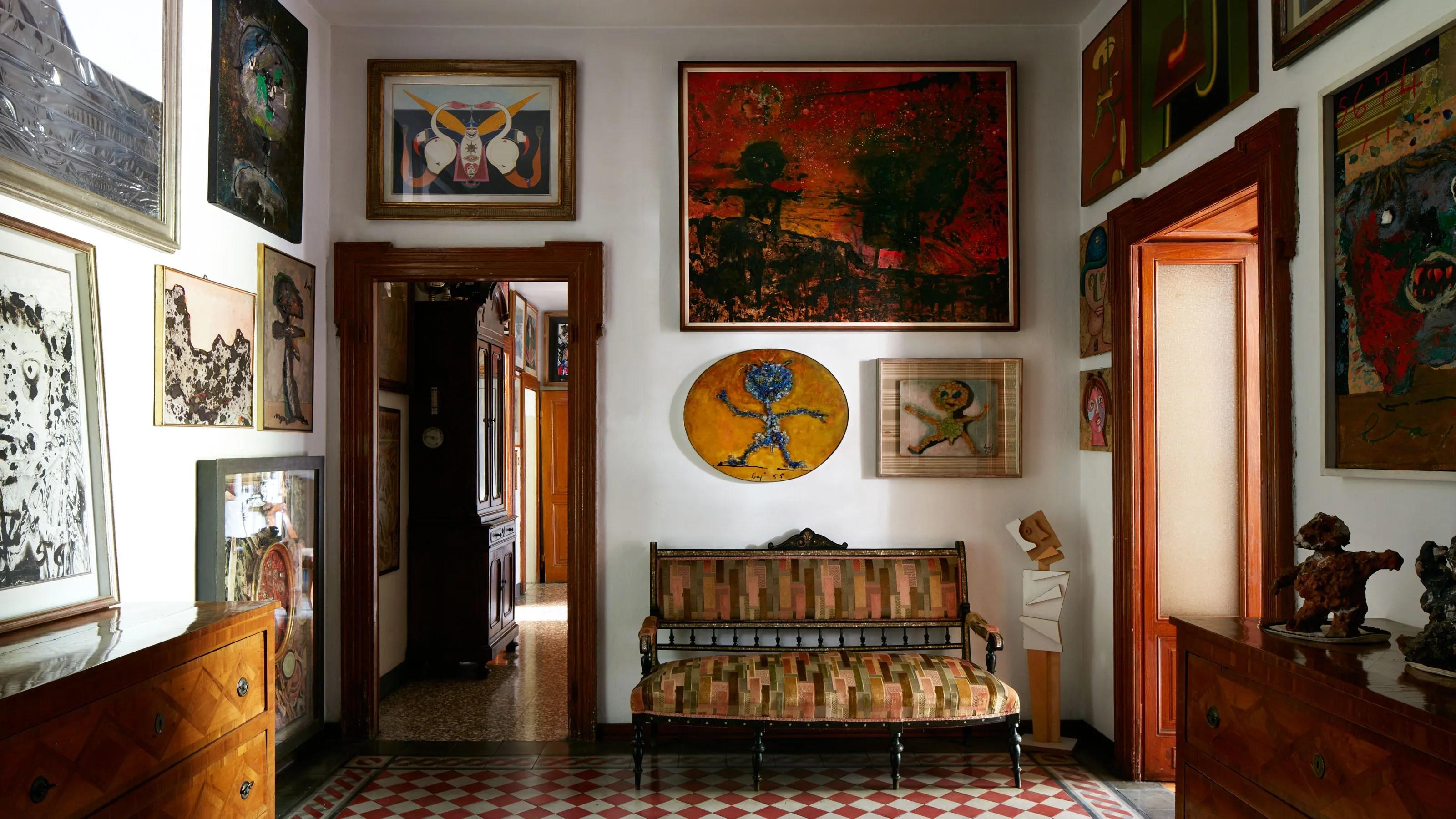 Inside The Enchanting Villa That Inspired Enrico Bajs Work Architectural Digest