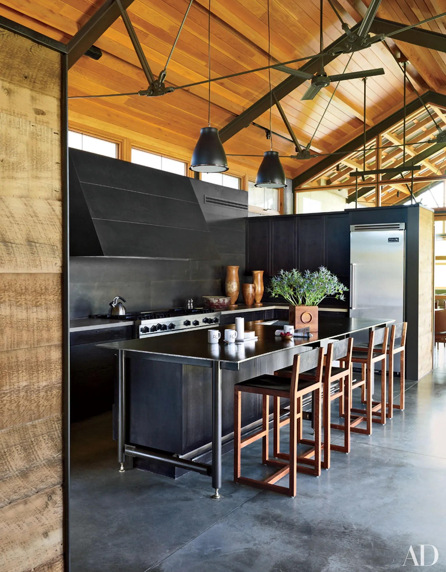 25 Black Countertops to Inspire Your Kitchen Renovation ... on Black Countertops  id=19584