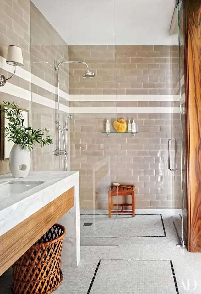 23 Ways to Decorate with Subway Tile Photos ... on Bathroom Ideas Subway Tile  id=63529