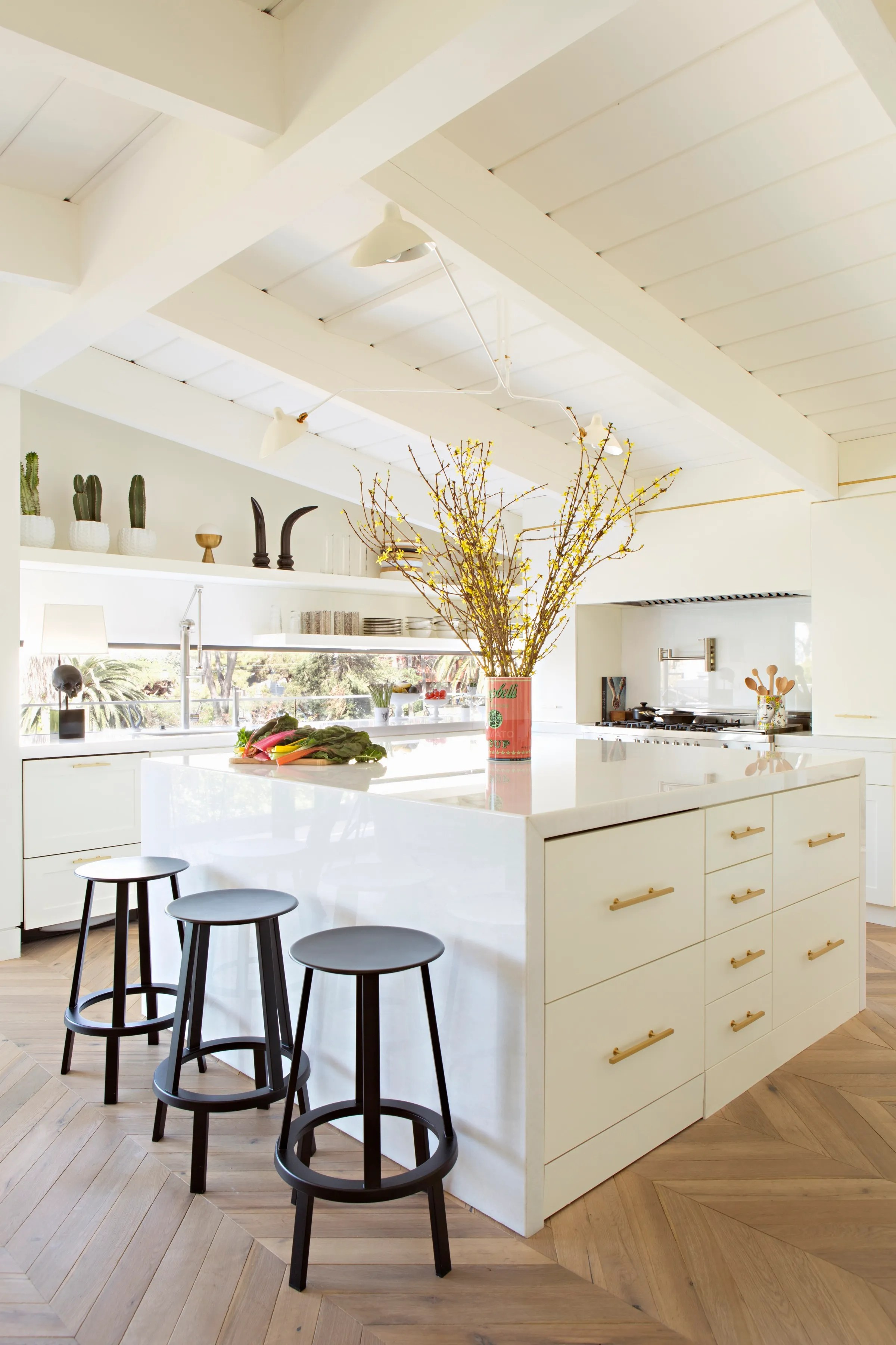 A Dark 1960s Kitchen Is Transformed into an Airy Oasis ... on Rustic:rkh3E0Gkuju= Farmhouse Kitchen Ideas  id=64407