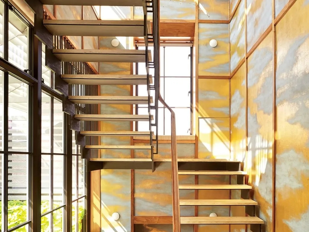 Types Of Stairs Explained Architectural Digest | Types Of Spiral Staircase | Divine | Elegant | Exterior | Free Standing | Aqua