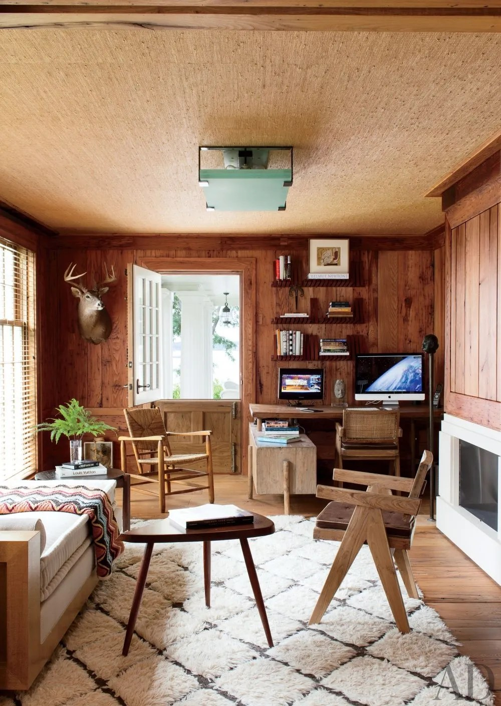 Add Warmth To A Room With Light Wood Paneling Photos