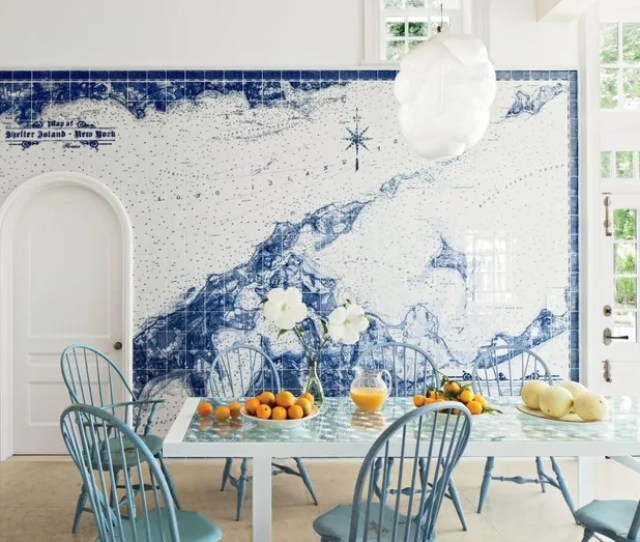 Beach Dining Room By Piccione Architecture Design And Piccione Architecture Design In Shelter Island