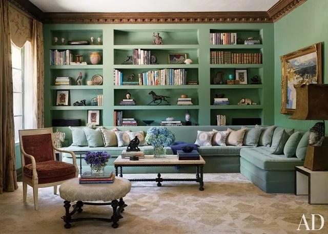 Bookshelf Paint Ideas And Inspiration Photos