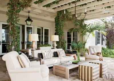28 Luxurious Indoor-Outdoor Rooms | Architectural Digest on Cc Outdoor Living id=34126