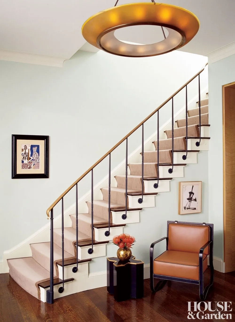 Types Of Stairs Explained Architectural Digest | New Home Stairs Design | Beautiful | Entrance | Iron | Stairway | Wall