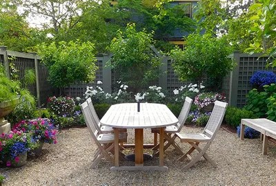 8 Cute Small Gardens and Outdoor Spaces | Architectural Digest on Cute Small Backyard Ideas id=48880
