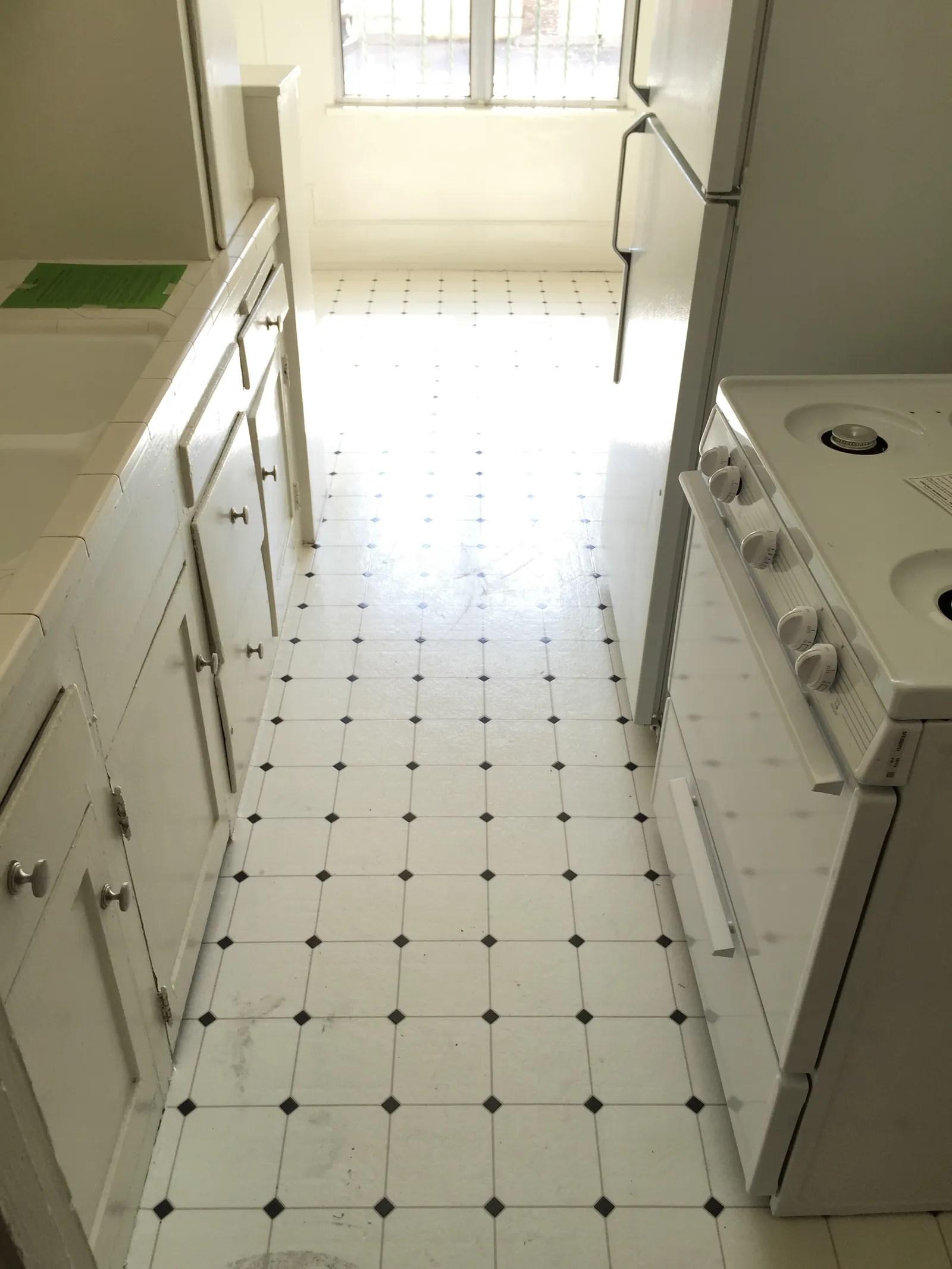 a clever kitchen tile solution