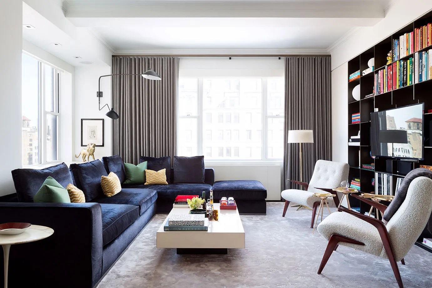 See more ideas about apartment living, apartment decor, small apartments. Tour a Redesigned Prewar New York Apartment