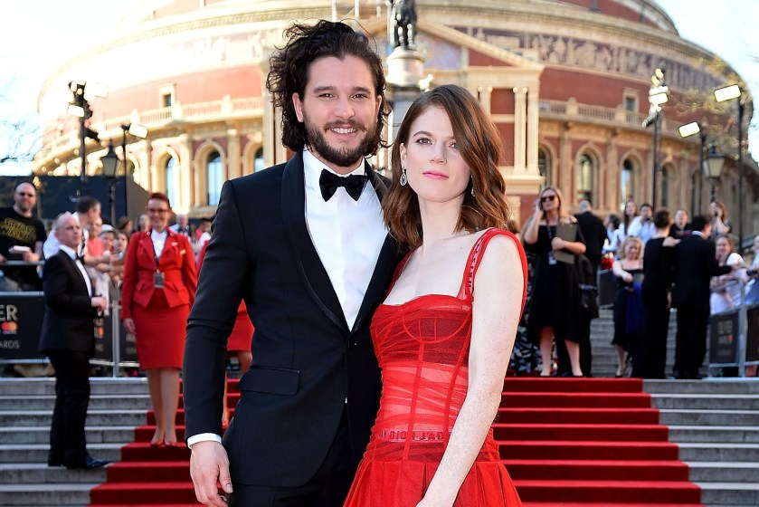 Image result for real life partners of game of thrones actor