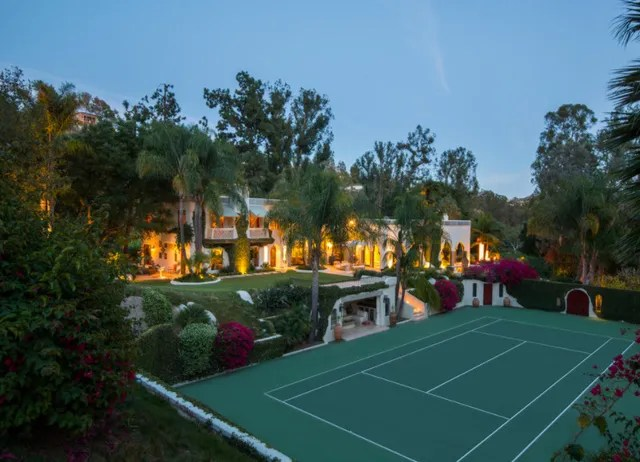 Location: Beverly Hills, CaliforniaBuilt: 1980Price: $85,000,000Bed/Baths: 11 bedrooms, 17 bathroomsSq. Footage: 10,948Lot Size: 16 acres
