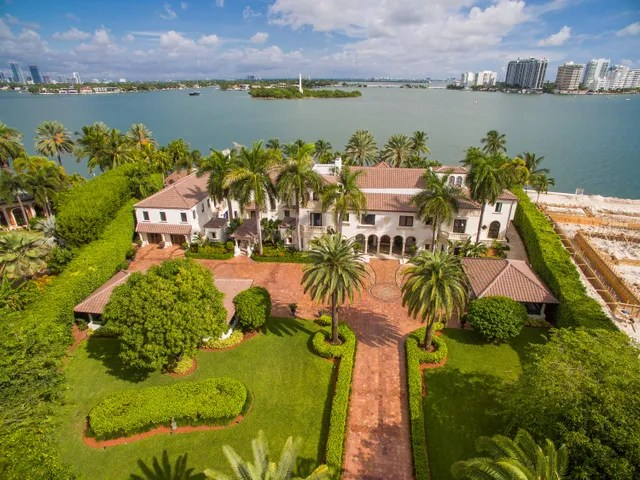 Location: Miami Beach, FloridaPrice: $65,000,000Bed/Baths: 10 bedrooms, 10 full and 2 partial bathroomsSq. Footage: 20,000Lot Size: 1.407 acres