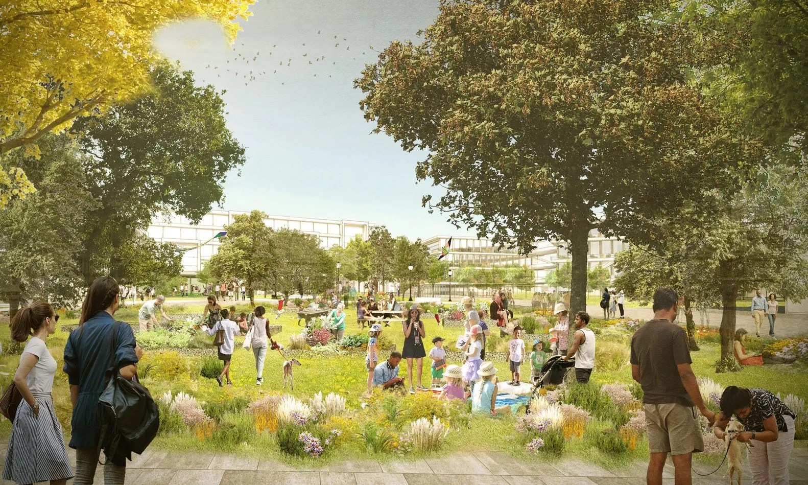 Facebook S Latest Campus Is Set To Be Designed By Oma New