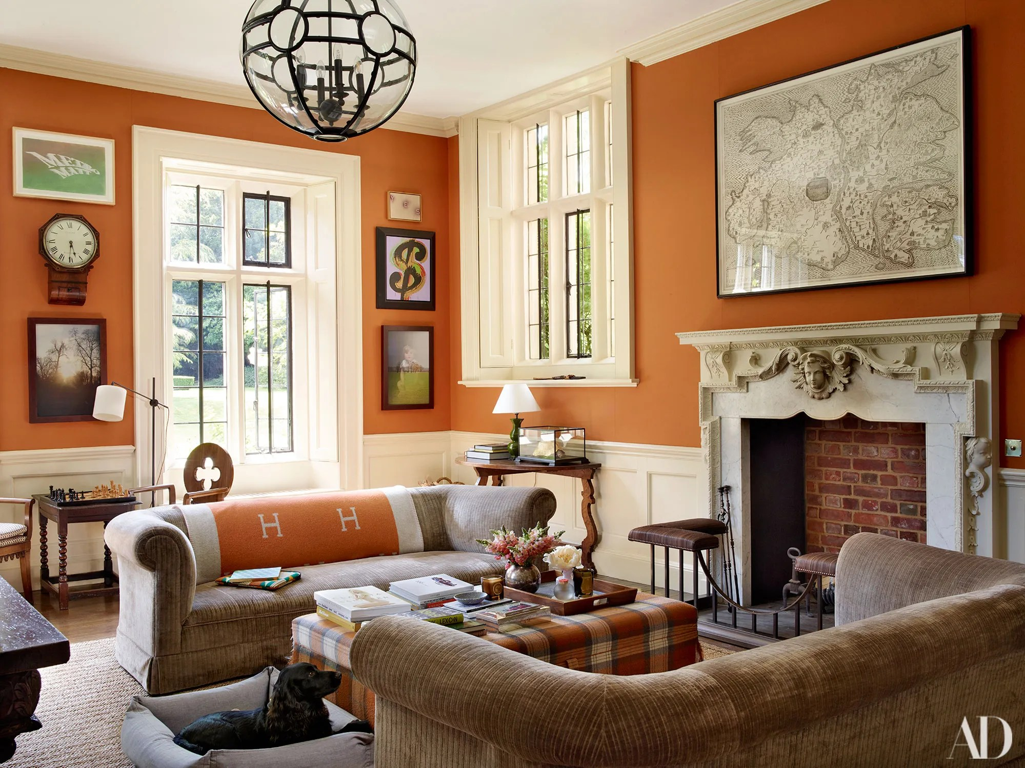Get The Look Of Claudia Schiffer S English Manse Photos