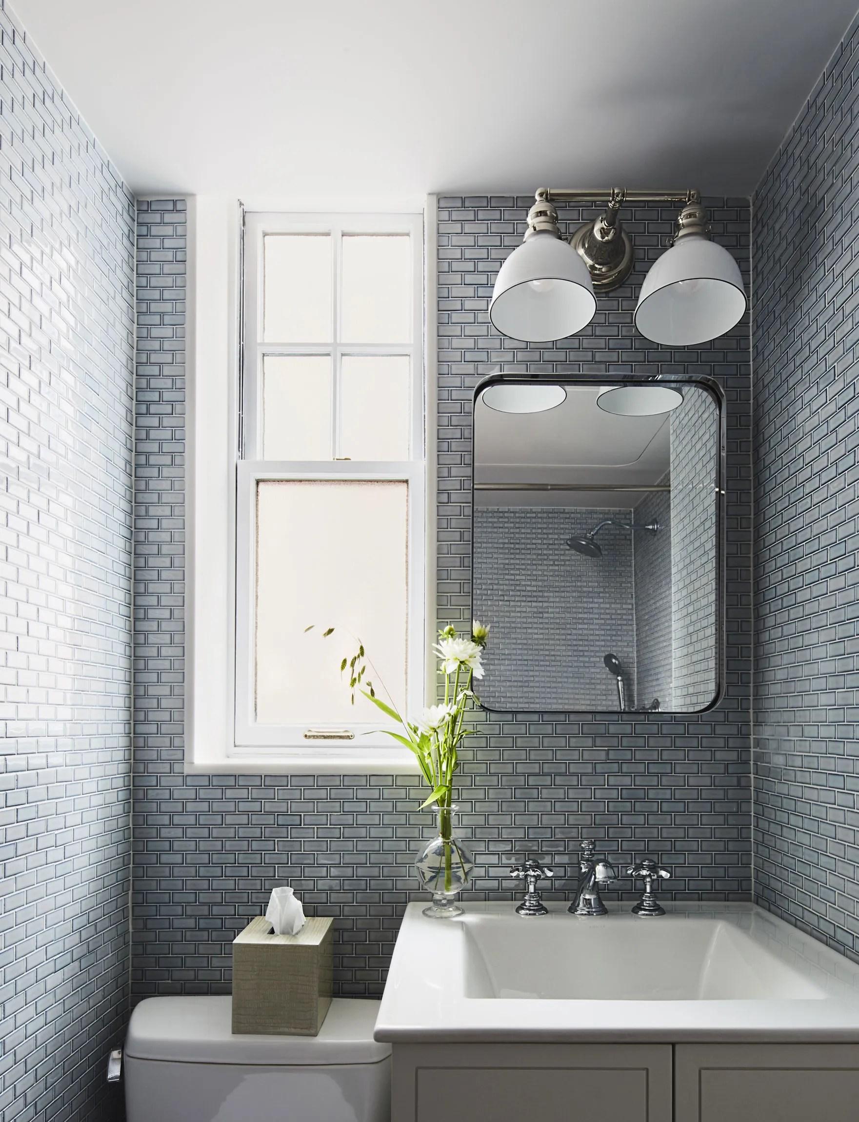This Bathroom Tile Design Idea Changes Everything ... on Small Space Small Bathroom Tiles Design  id=45217