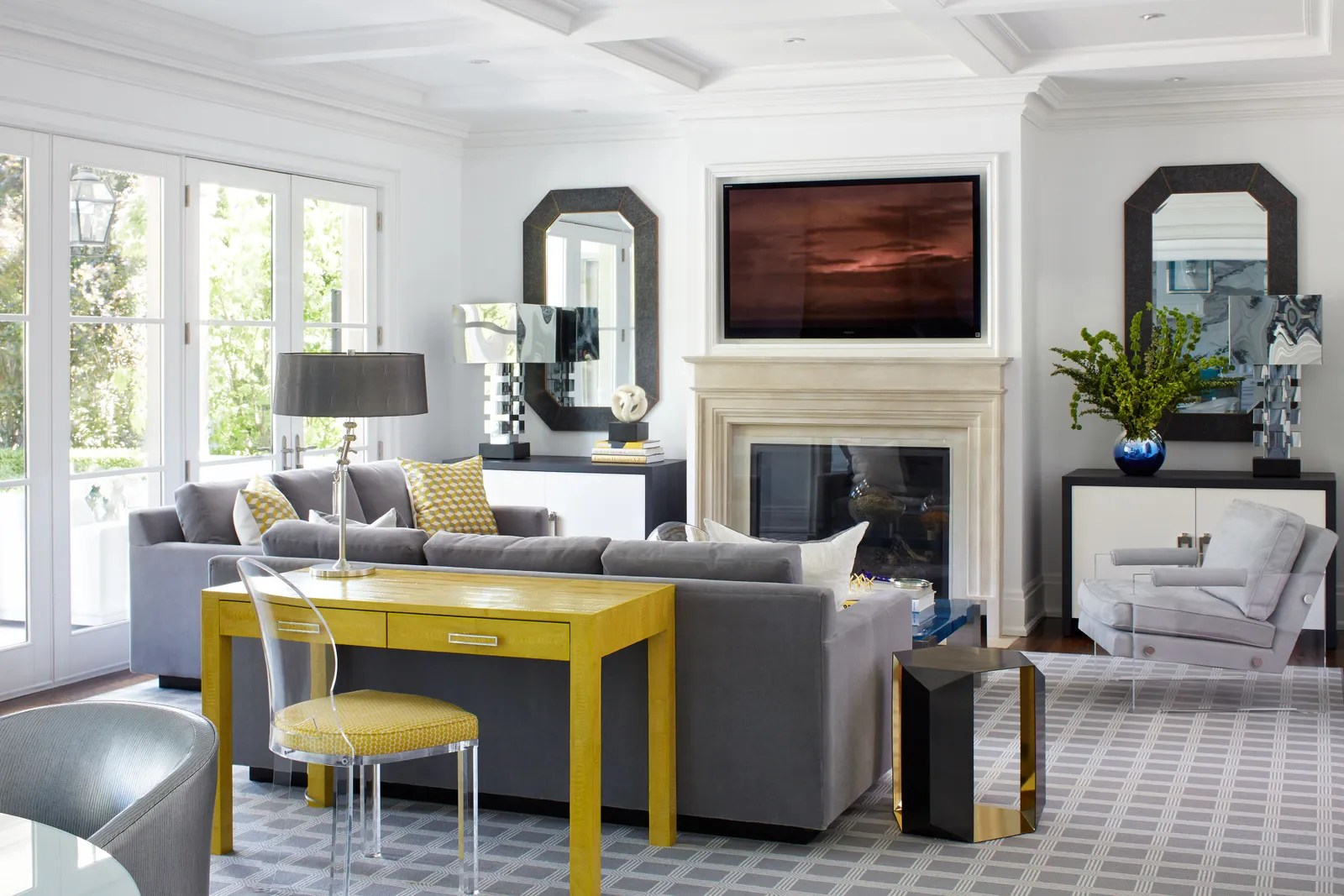9 Best Living Room Lighting Ideas | Architectural Digest on Best Sconces For Living Rooms Near Me id=77806