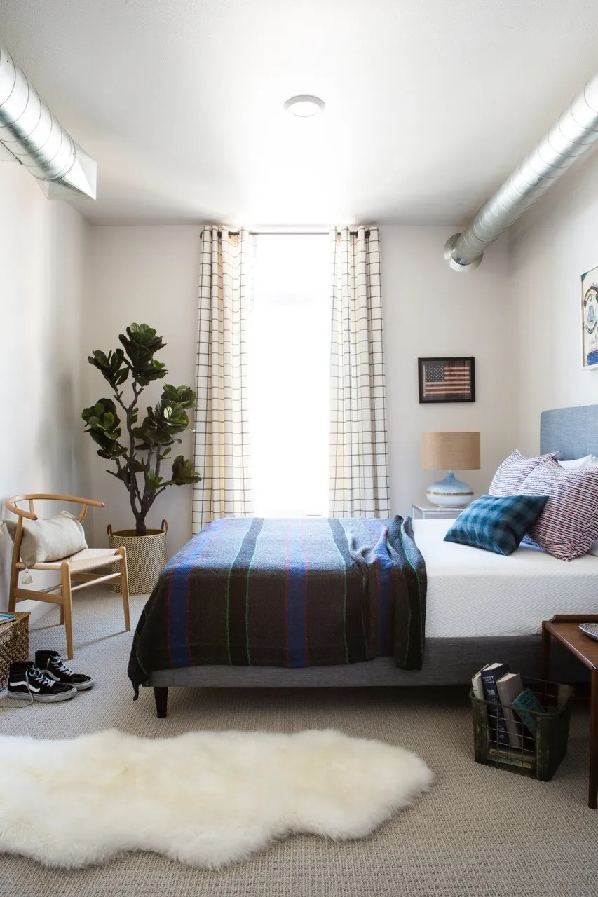 12 Small Bedroom Ideas to Make the Most of Your Space ... on Small Room Ideas  id=59333