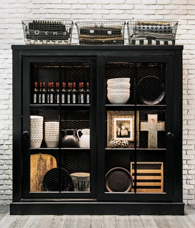 Kitchen Bookcase in the house of Diane Keaton for book The House That Pinterest Built