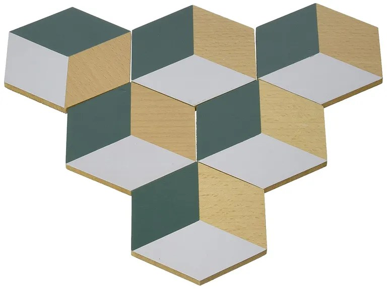 Coasters are infinitely useful; coasters that link together to make graphic trivets and trays are kind of miraculous. SHOP NOW: Table Tiles in Green and Gray by Areaware, $19 for six, amazon.com