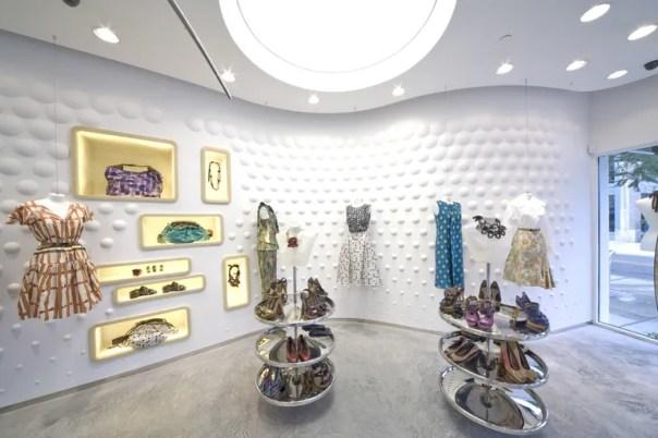 Marni's Miami boutique, designed by Sybarite.