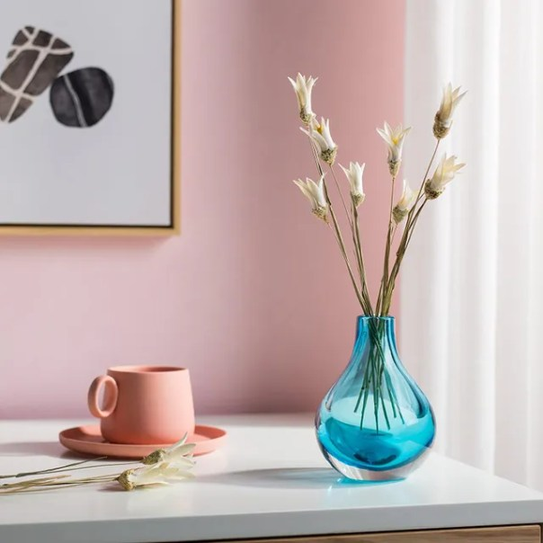 glass bud vase